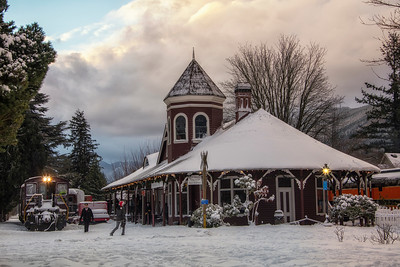 Christmas at the Snoqualmie Depot