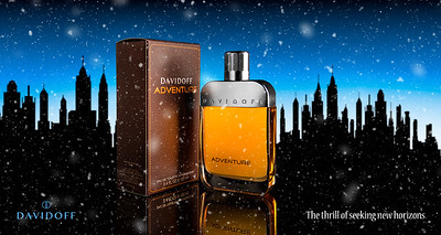 Davidoff Adventure | The Thrill of Seeking New Horizons Advertising and Product Photography Editorial Ad Commercial Campaign Cologne Perfume Parfum Cool Water Lifestyle