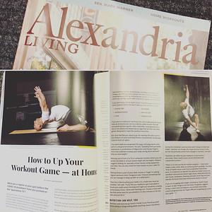 Featured in Alexandria Living