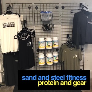 Sand and Steel Protein and Gear