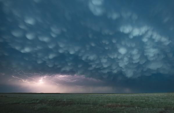 Mammatus Clouds - Guymon, Oklahoma