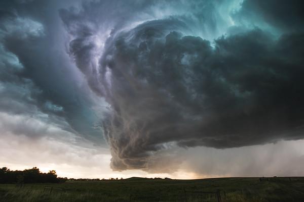 Supercell Over Baker, Montana