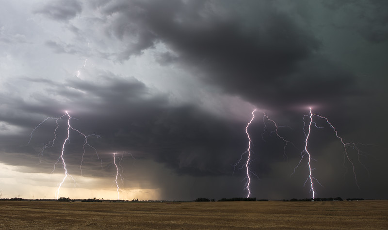 Supercell with Quad Lightning (explored)