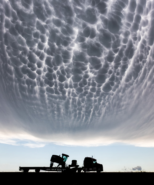 Mammatus over Kansas