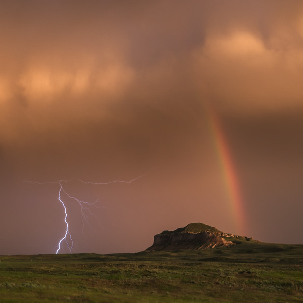 Rainbow and the Storm