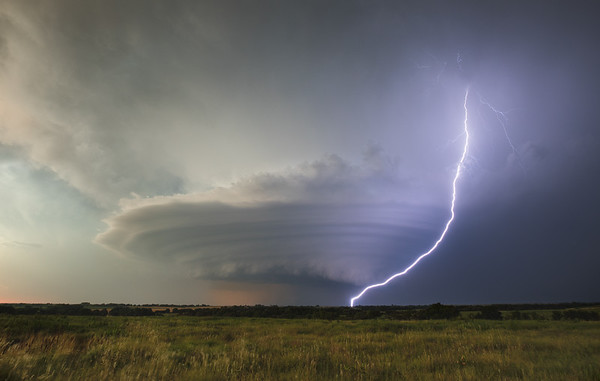 Mothership Supercell - Douglass, Kansas