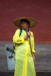 Groundskeeper,  The Forbidden City, China