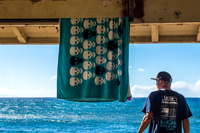 Kite surfing lookout, Maui