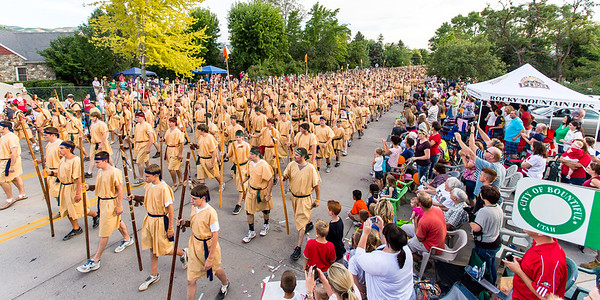 Stripling Warrior March, 2012
