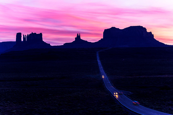 North of Monument Valley, Utah/Arizona