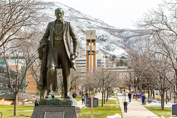Weber State University campus, Ogden, Utah