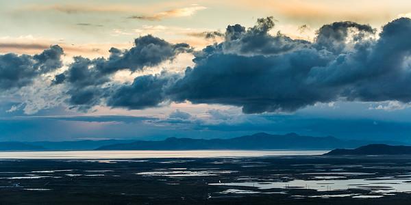 Great Salt Lake Cloudscape, 2018