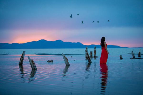 Megan on the Lake, 2015