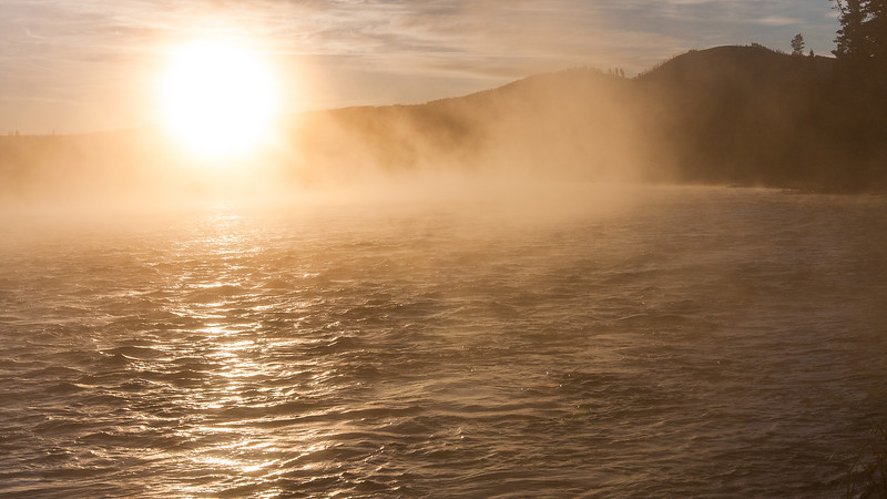 Yellowstone Sunrise No. 1, 2011