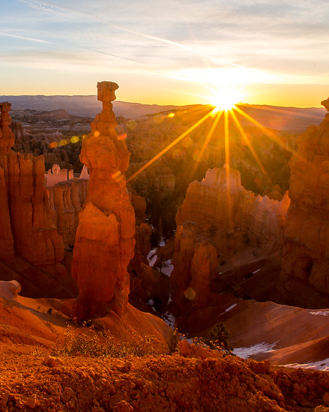 Sunrise at Bryce, 2016