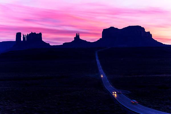 North of Monument Valley, Utah/Arizona