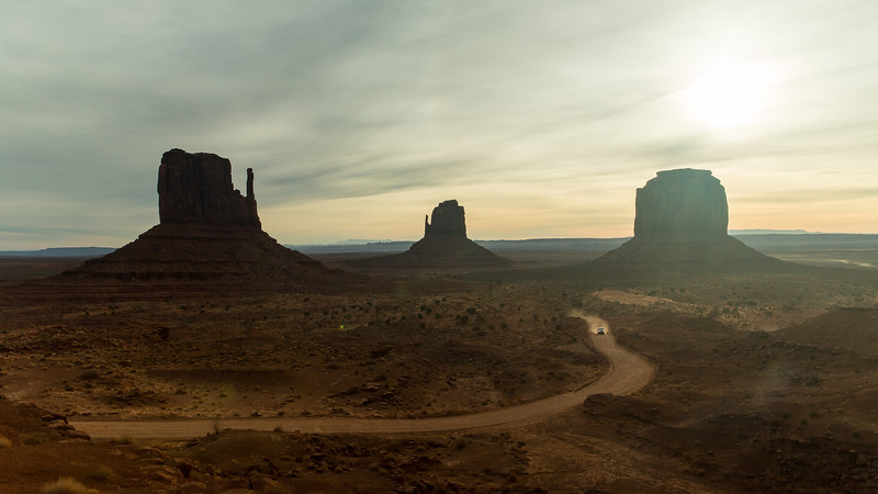 Morning Ride in Monument Valley, 2018