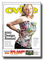 "Featured in C-ville Weekly 2010 Design Annual<br /> ""Four local designers turn trash to treasure""<br /> <br /> <a href=""http://www.c-ville.com/Four_local_designers_turn_trash_to_treasure/#.Va_1RxNViko"">http://www.c-ville.com/Four_local_designers_turn_trash_to_treasure/#.Va_1RxNViko</a>"