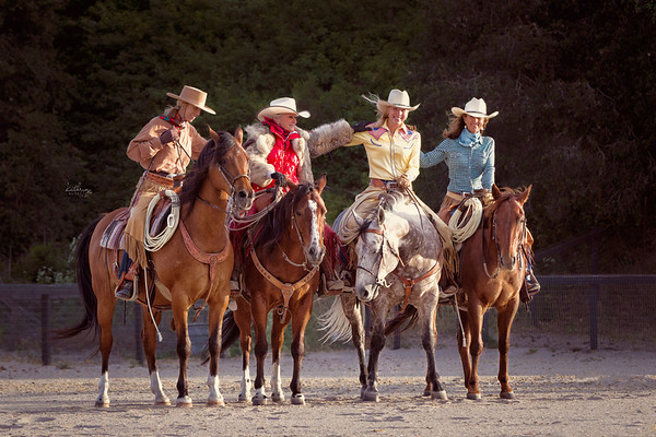 The Book Club Girls, Sheila Varian (Cowgirl Hall of Fame), Audrey Griffen (Cowgirl Hall of Fame), Kristen Reynolds, Lisa Thompson