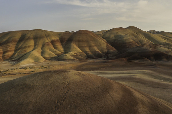 Painted Hills by Air
