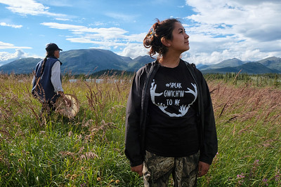 Images from the 2016 biannual Gwichin Gathering in Arctic Village, Alaska.