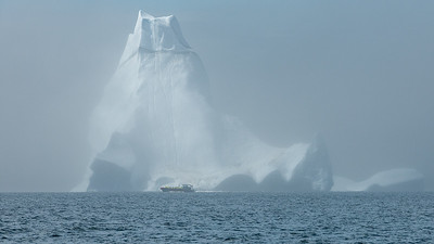 The Iceberg at Twillingate