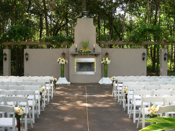 Ceremony at Chateau Polonez