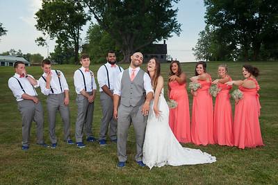Ashlee & Paul's wedding day in Richmond, KY 7.12.14.