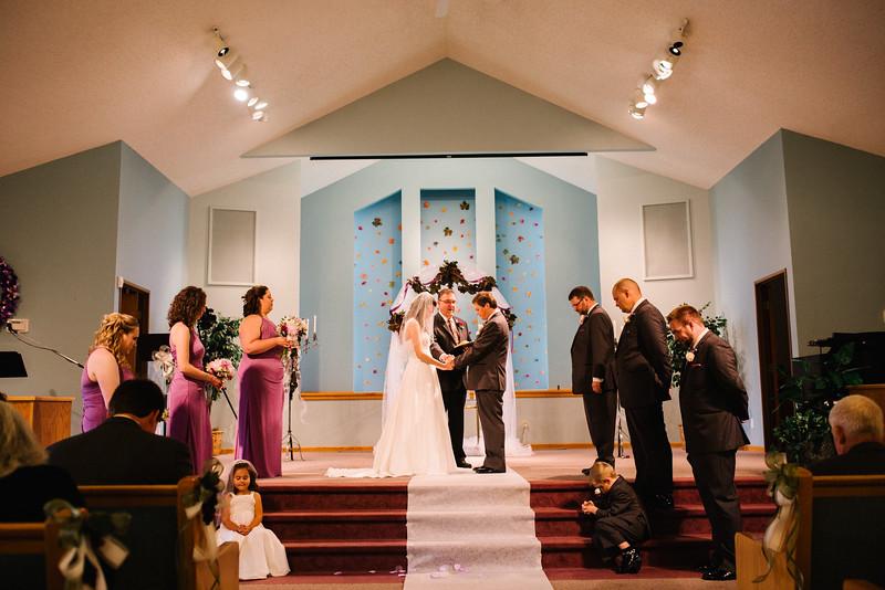 Ashley & Michael's wedding at Madison East Seventh Day Adventist Church in Madison, Wisconsin . Wedding photographer – Ryan Davis Photography – Rockford, Illinois.