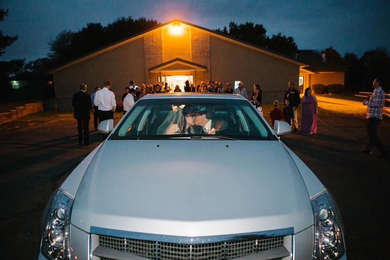 Ashley & Michael's wedding reception at Three Angels Christian School in Madison, Wisconsin. Wedding photographer -Ryan Davis Photography – Rockford, Illinois.