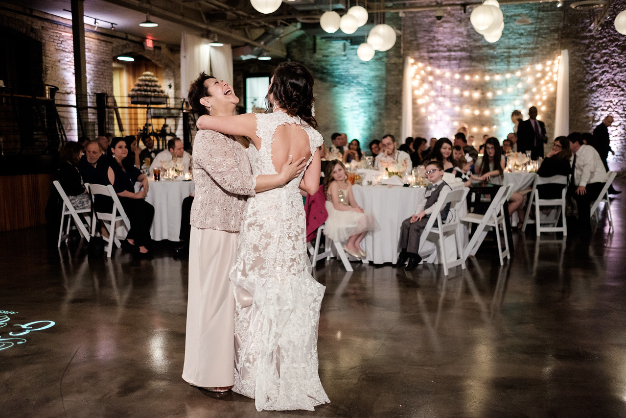 Prairie St. Brewhouse Spring Wedding