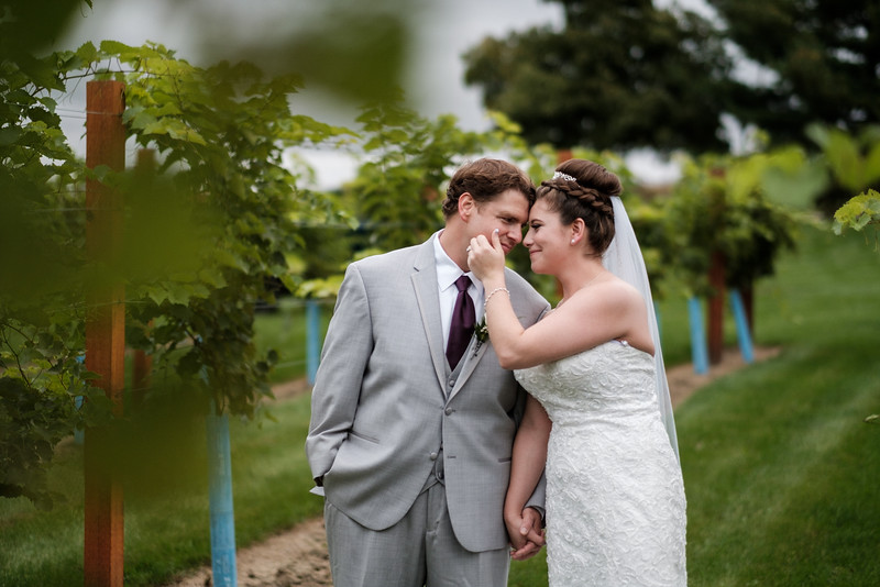 Brenna & Jarett's DC Estate Winery Wedding
