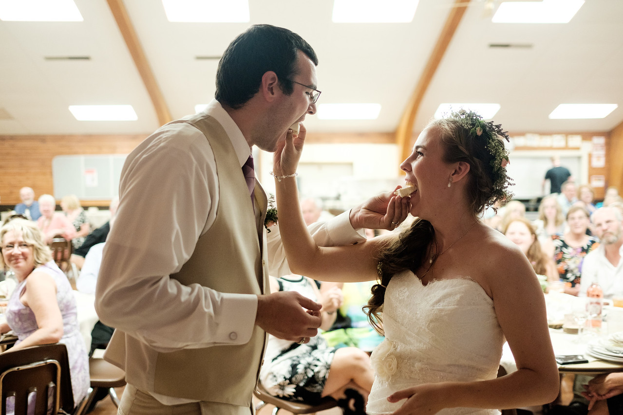 Lutherdale Summer Bible Camp Wedding Reception