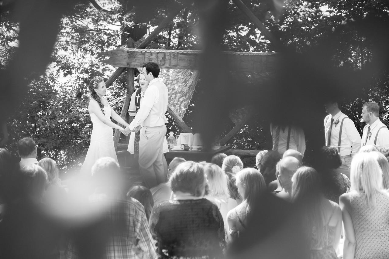 Lutherdale Summer Bible Camp Wedding Ceremony