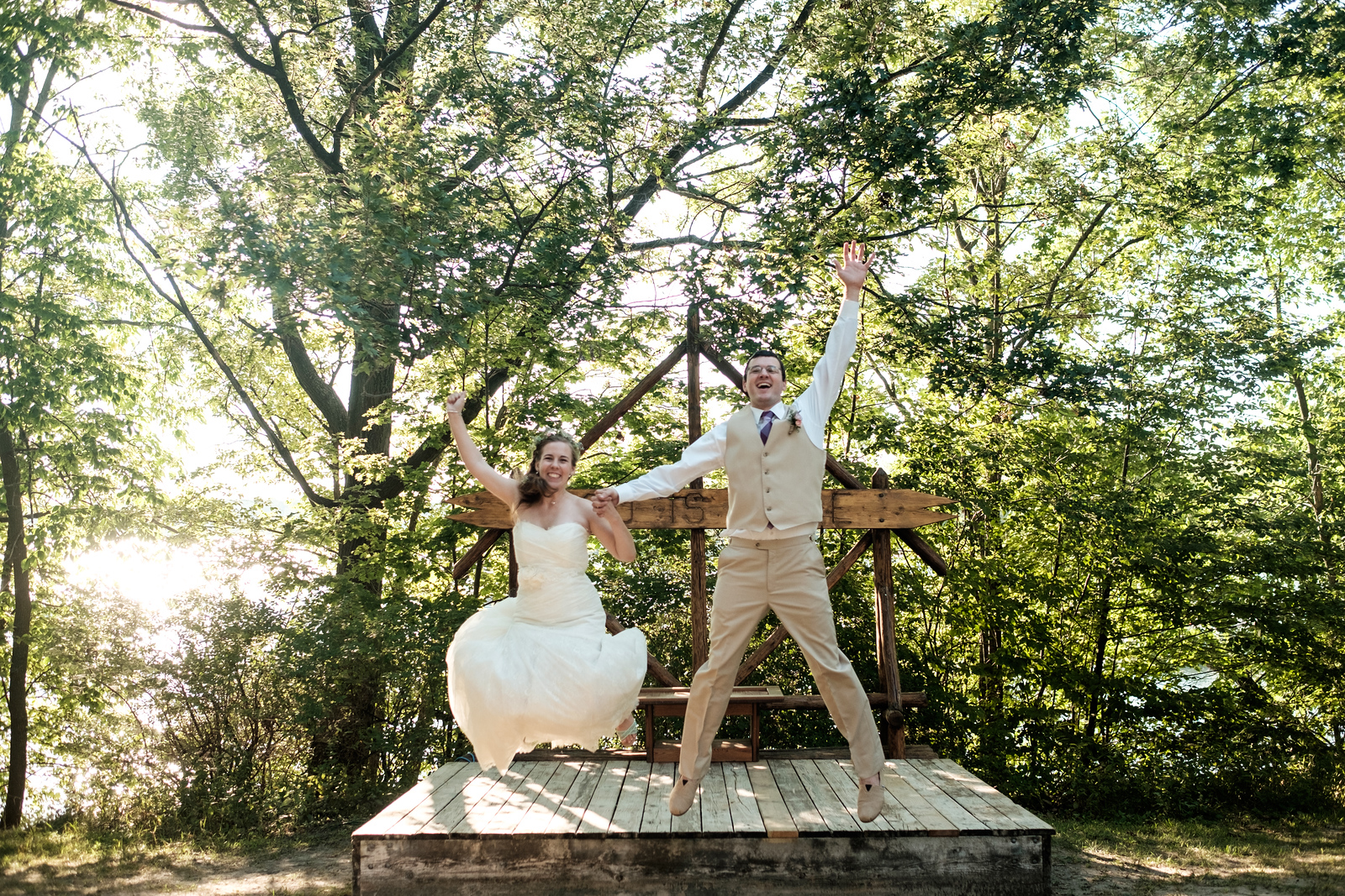 Lutherdale Summer Bible Camp Wedding Portraits