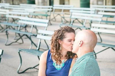 Carrie & Matt's engagement session at Keeneland & Gratz Park in Lexington, KY 7.31.15.  © 2015 Love & Lenses Photography/ Becky Flanery   www.loveandlenses.photography