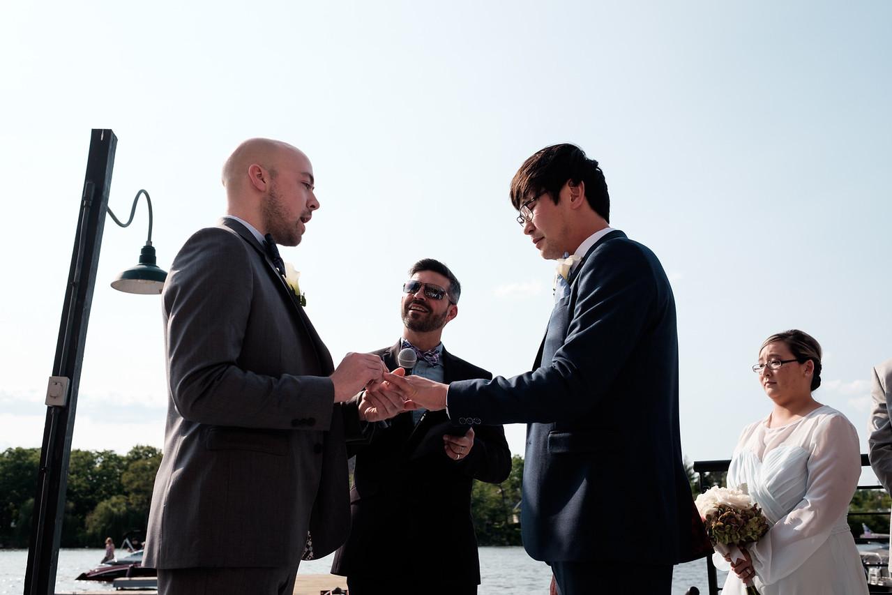Cole & Erik's Prairie St. Brewhouse wedding