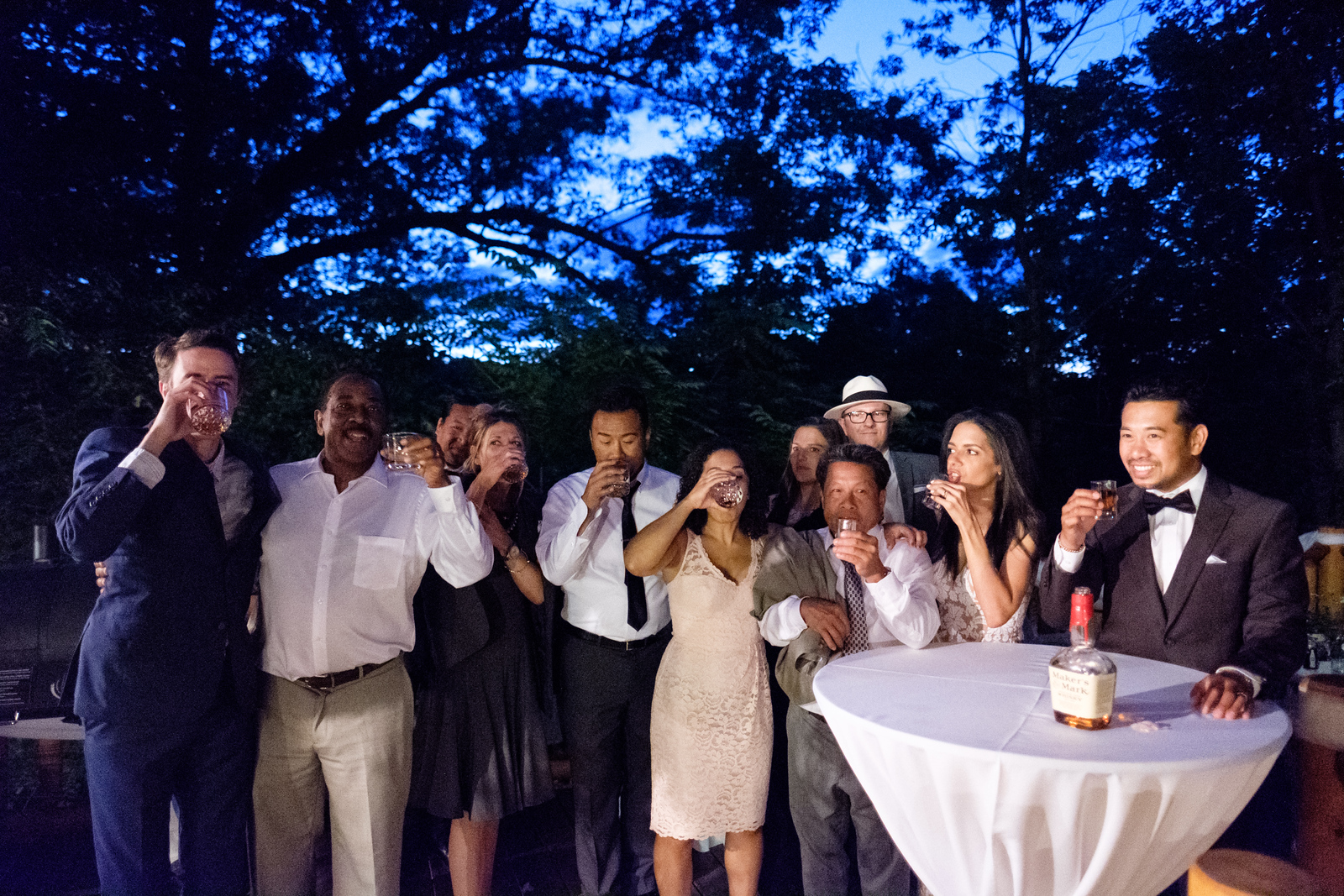 Elizabeth & Pitra's Backyard Wedding