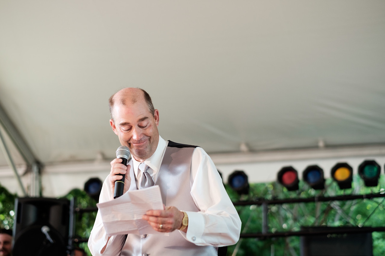 Emily & David's Midway Village Wedding