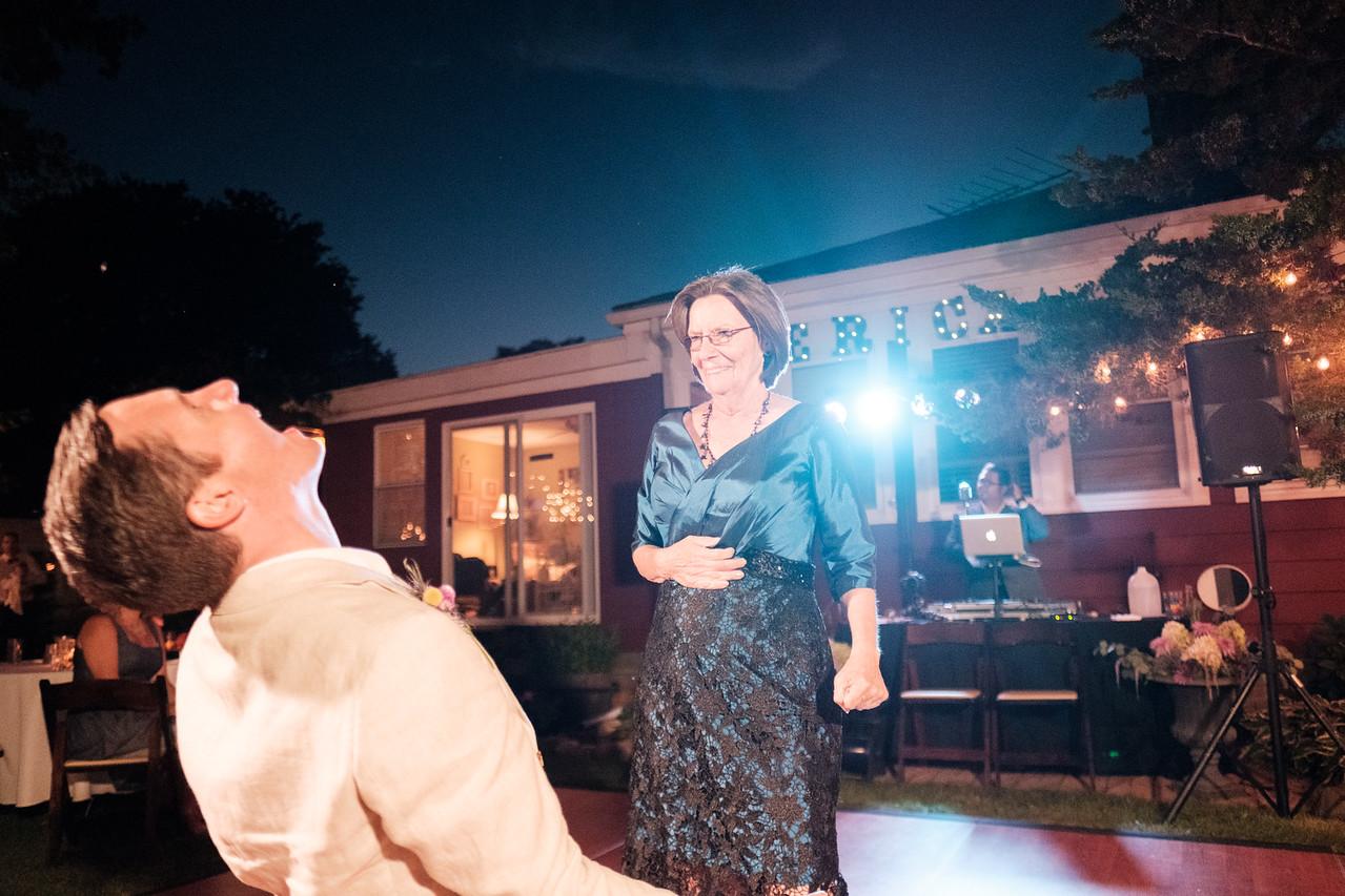 Erica & Michael's Backyard river wedding