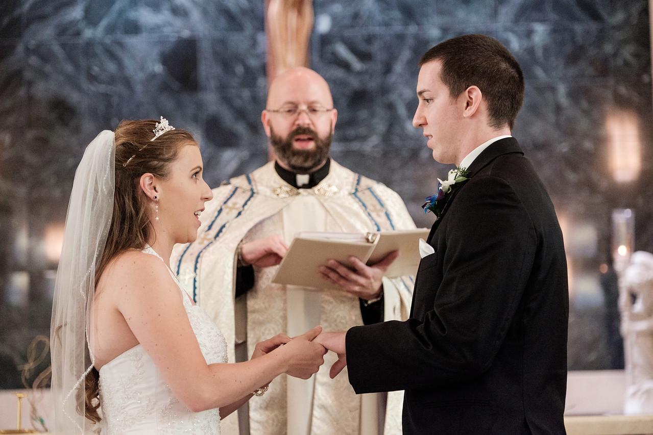 St. Peter South Beloit Wedding Ceremony
