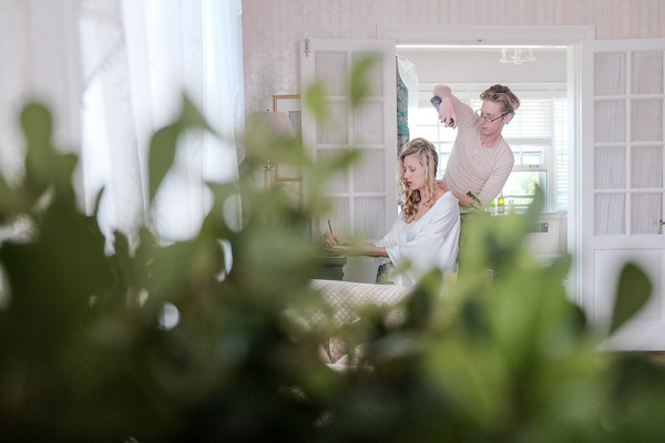 Danada House mansion wedding prep