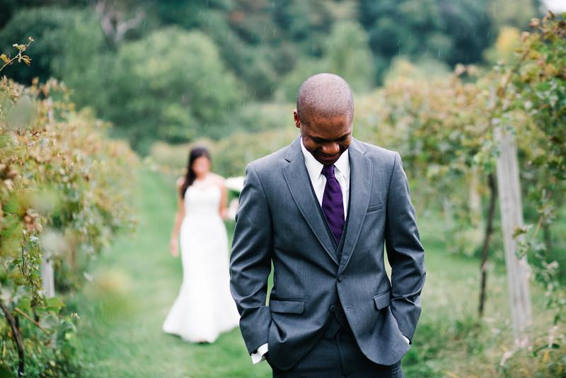 Galena Cellars Vineyard wedding prep
