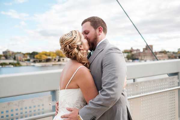 Jess & Nick's Burpee Museum & Prairie St Brewhouse wedding