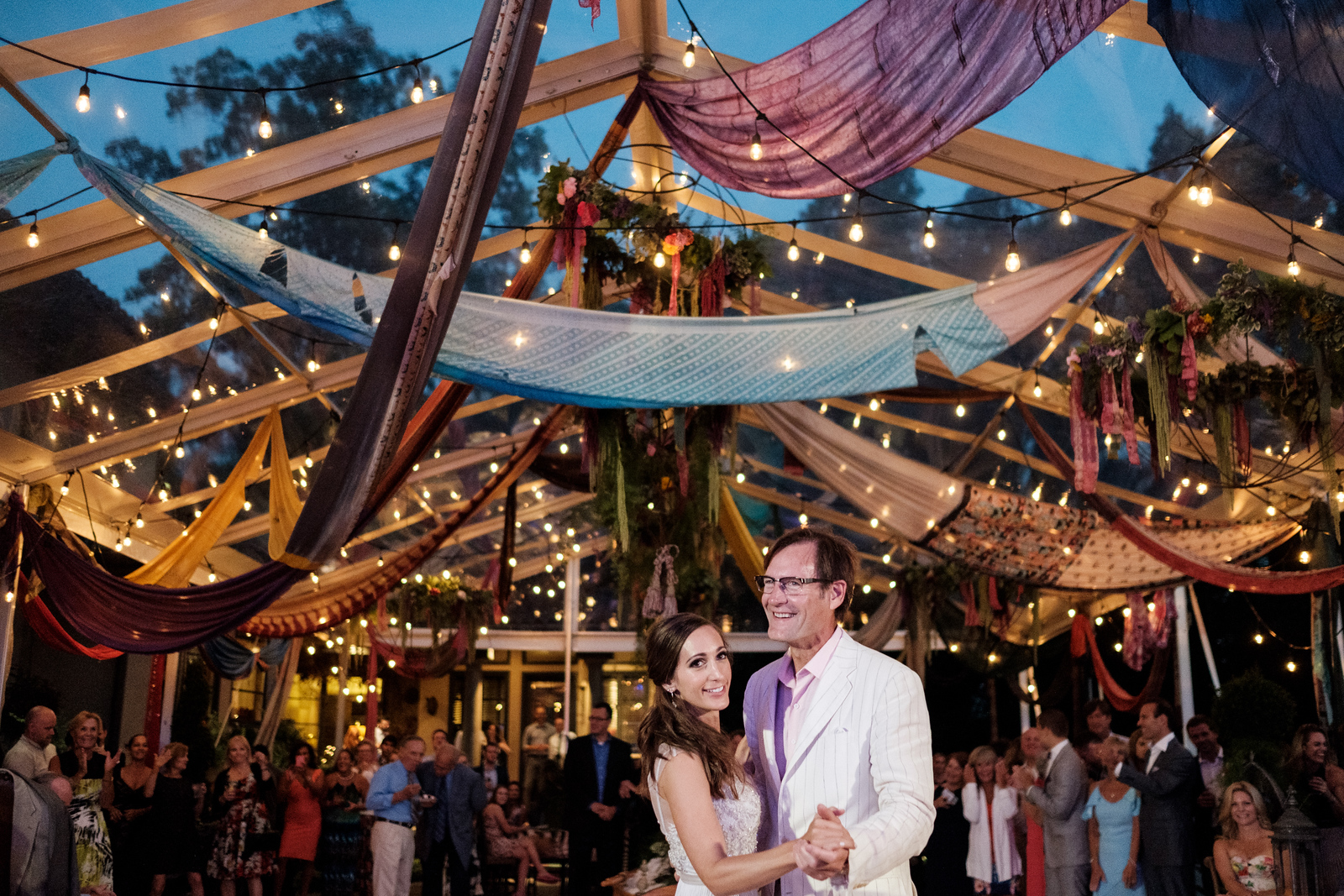 Kailley & Nick's Bohemian Backyard Reception
