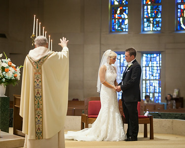 Kathryn & Blake's wedding day at Cathedral of Christ the King, Ashland & the Hyatt 7.19.14.