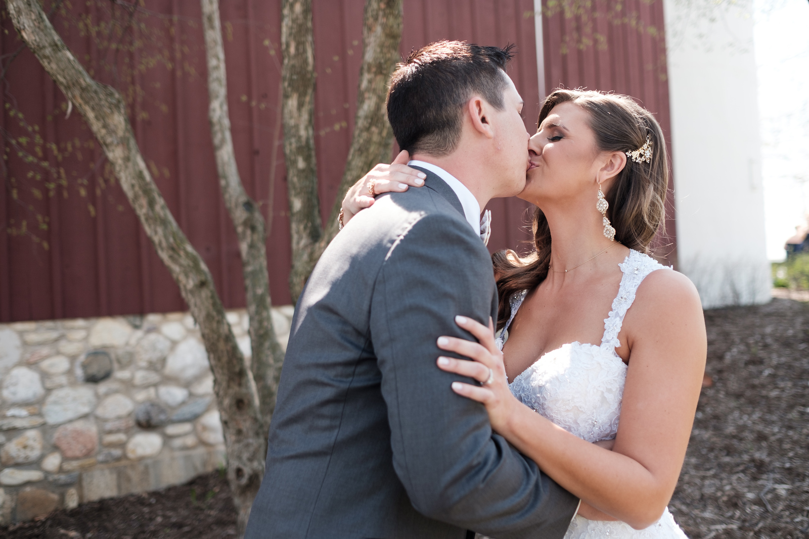 Hoosier Grove Barn Spring Wedding