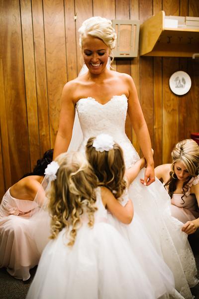 Middle Creek wedding prep