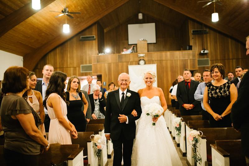 Middle Creek wedding Ceremony