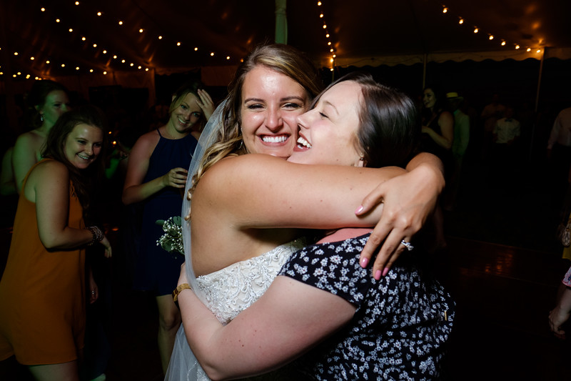 Leah & Chase's country wedding